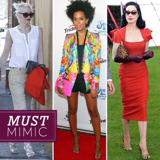 This Week's Most Spotlight-Worthy Celebrity Styles to Work Into Your Mix