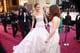 Kristen Stewart and Jennifer Lawrence crossed paths on the carpet.