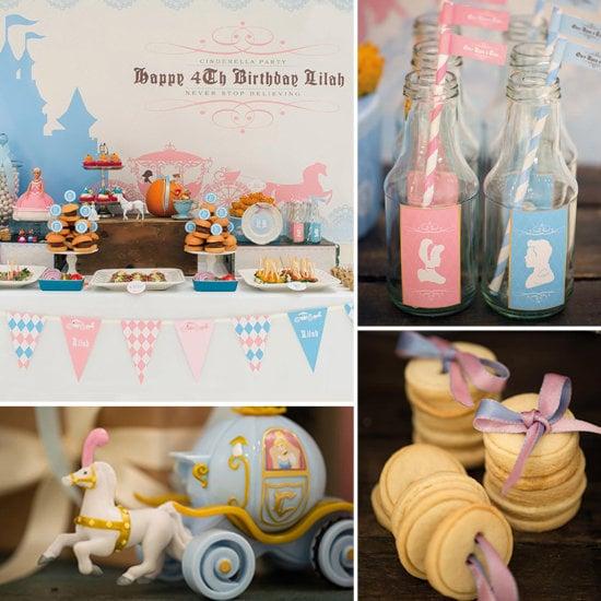 A Royal Cinderella Birthday Party