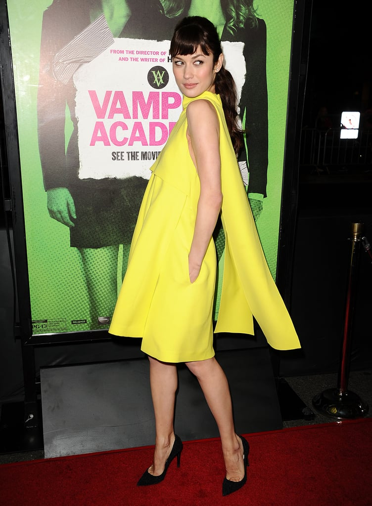 Olga Kurylenko at the Vampire Academy Premiere