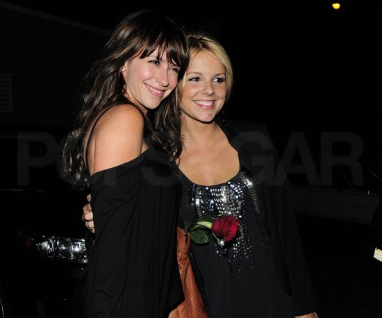 Slide Picture of Jennifer Love Hewitt and Ali Fedotowsky in LA