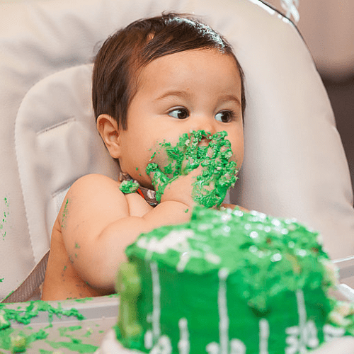 A Football-Themed First Birthday Party