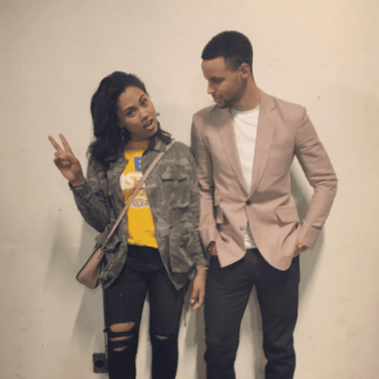 Cute Pictures of Stephen Curry and His Wife, Ayesha