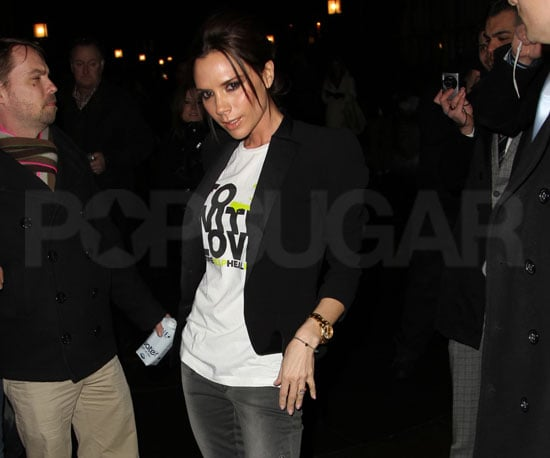 Photo Slide of Victoria Beckham at New York Fashion Week