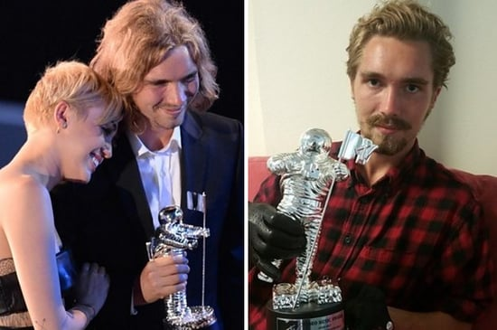 The Homeless Guy Miley Cyrus Took To The VMAs Is Selling Her Moonman On eBay