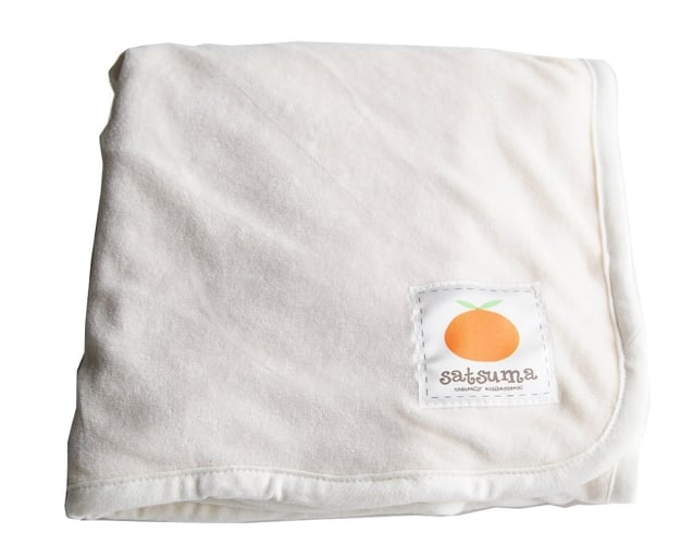 Satsuma Designs Velour Baby Blanket