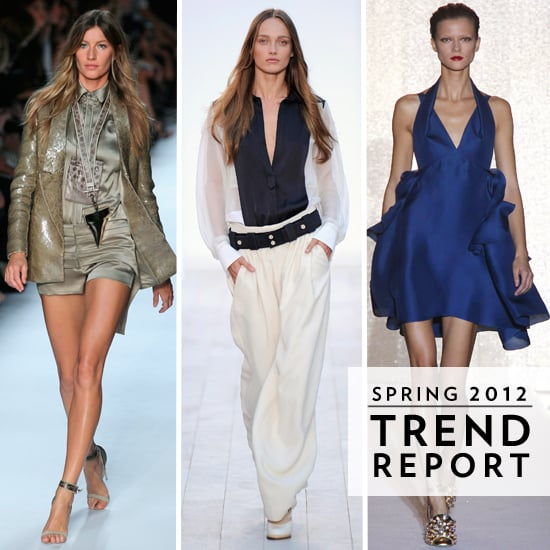 Top Ten Runway Trends from Paris Fashion Week 2012 Spring Summer: Fringing, Sheer, Baby Doll Dresses and more!