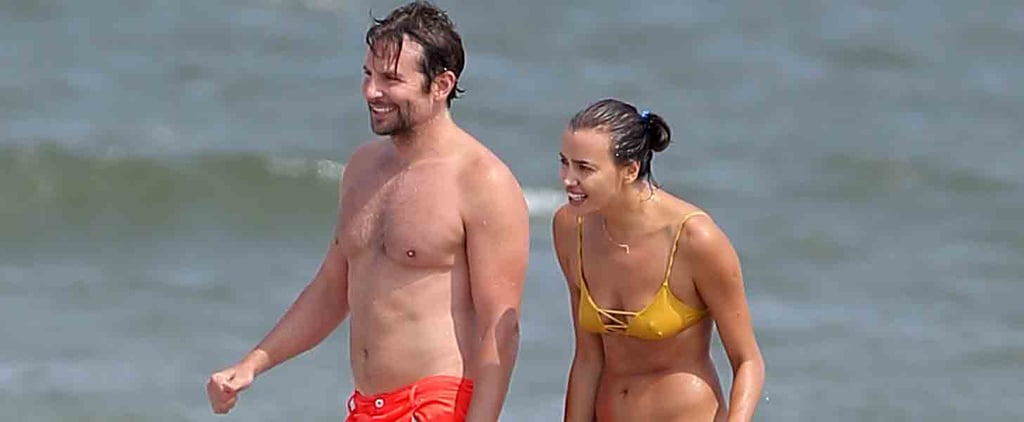 Bradley Cooper and Irina Shayk Wrap Up Their Summer of Love With Labor Day PDA