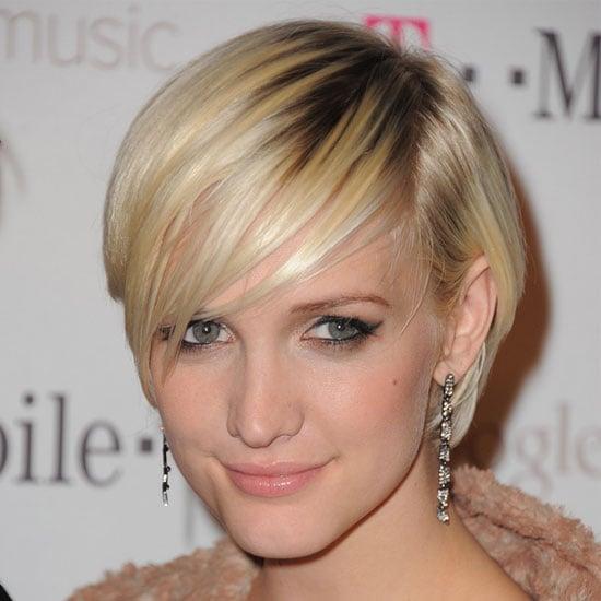Ashlee Simpson's Pink Makeup Look