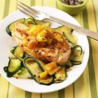 Fast & Easy Dinner: Triple-Mango Chicken