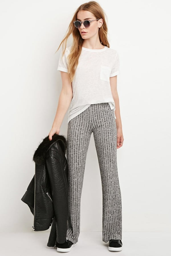 Forever 21 Ribbed Knit Flared Pants ($20)