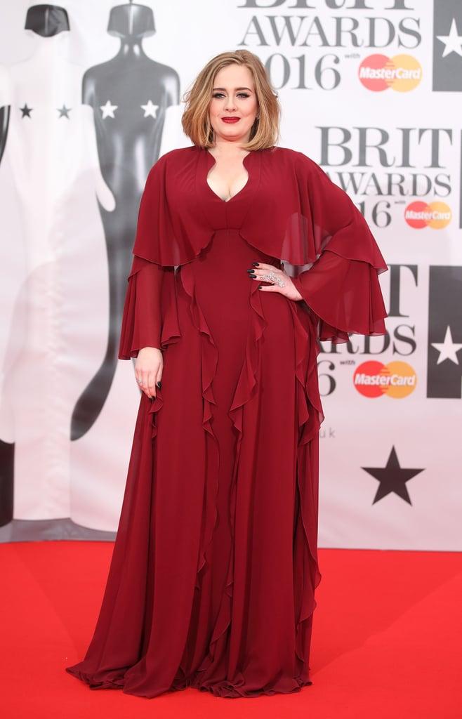 Adele Grammy Dress  Designer