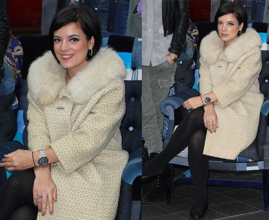 Lily Allen at the Westfield Car Boot Fair in London