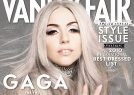 Quotes and Picture From Lady Gaga's Vanity Fair Cover Interview