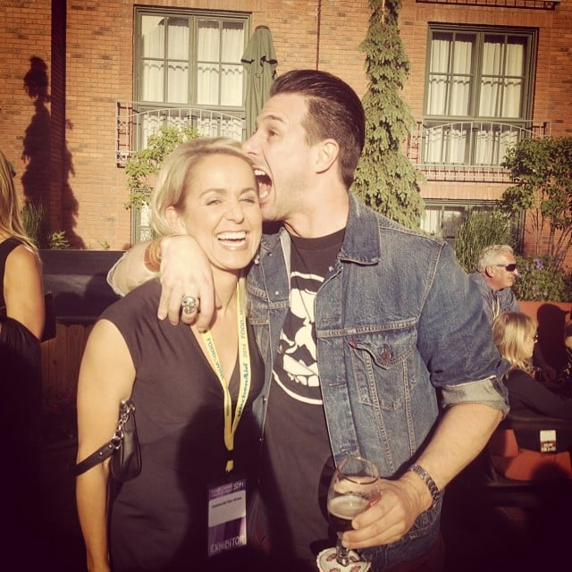 Johnny Iuzzini Couldn't Keep a Straight Face
