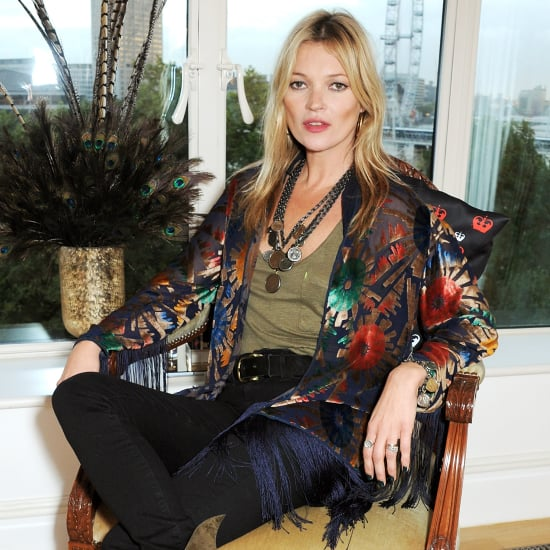 Kate Moss at the 180 Years of Cool Rimmel London Party