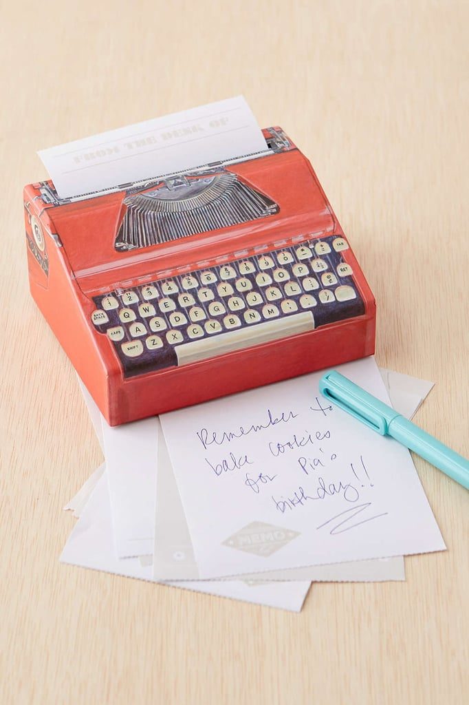 Typewriter Memo Pad