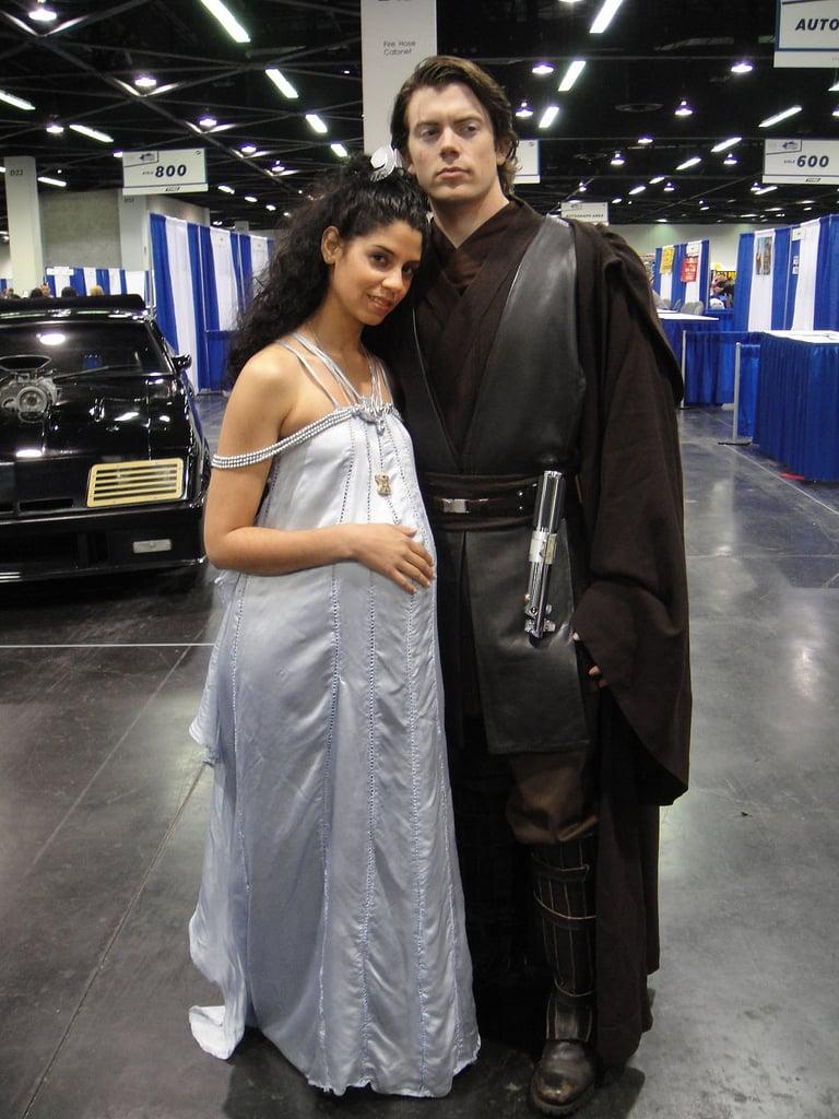 Padmé and Anakin Skywalker
