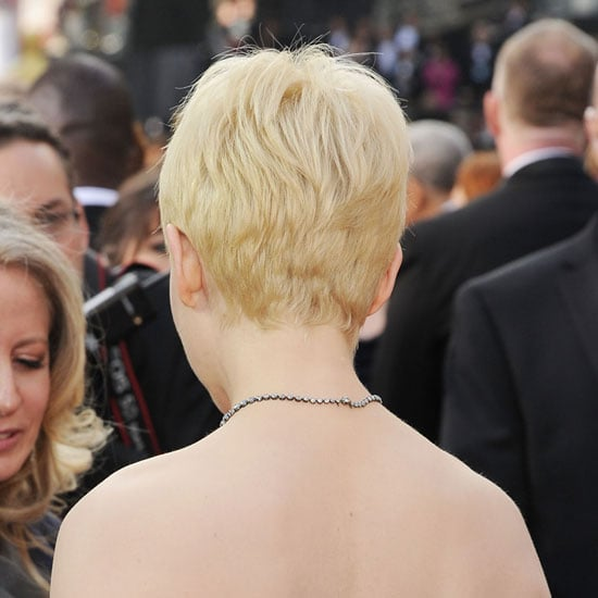 Michelle Williams From the Back