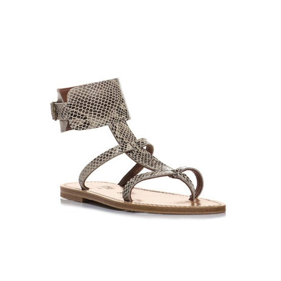 One thing I'm guilty of is packing too much especially in the shoe dept. What I've learnt is to go for a slightly dressier pair of flats that will take you from the beach to the bar, like these.— Laura, country managaer, shopstyle.com.au Sandals, approx $265, K. Jacques at Matches