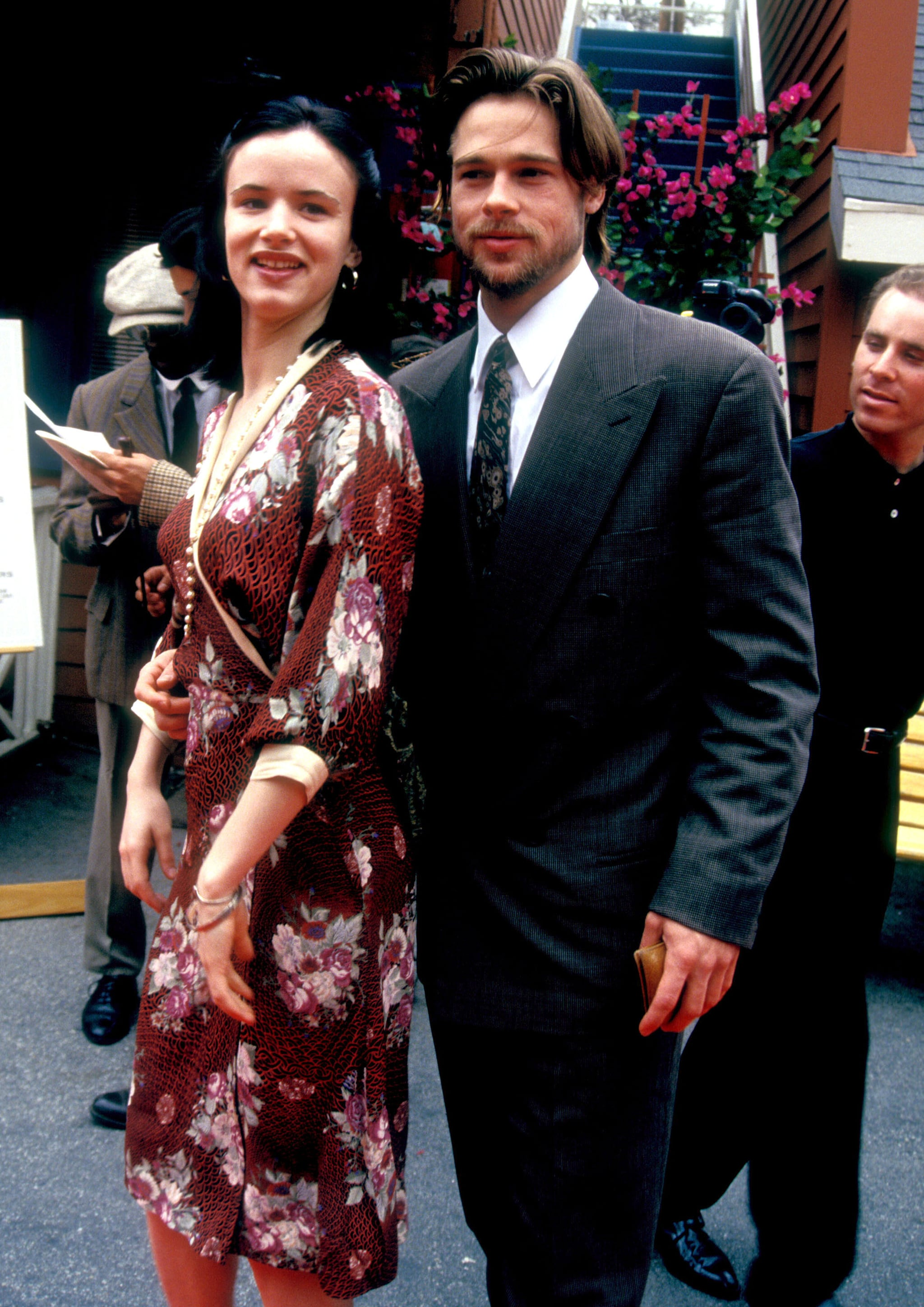 Brad Pitt and Juliette Lewis   They Dated?! Celebrity ...