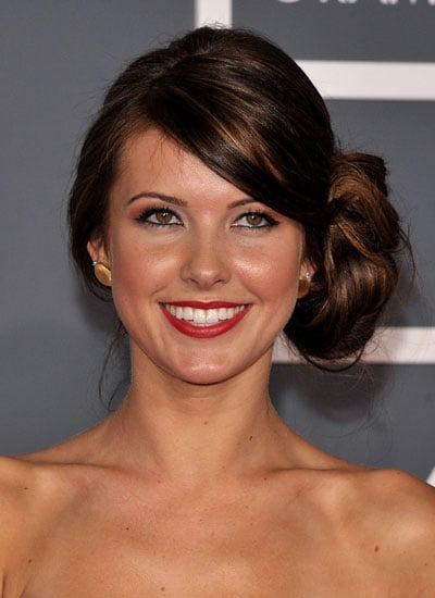 February 2009: Audrina at the 51st Annual Grammy Awards