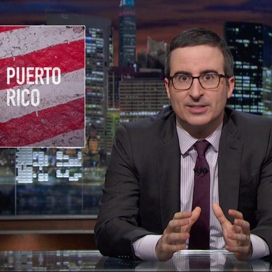 John Oliver's Puerto Rico Economic Crisis Video