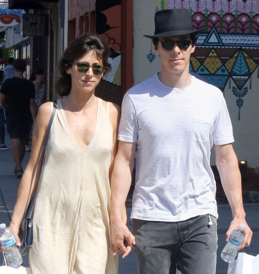 Benedict Cumberbatch and Sophie Hunter holding hands in LA and Vox piece on Social Justice, shipping and ideology