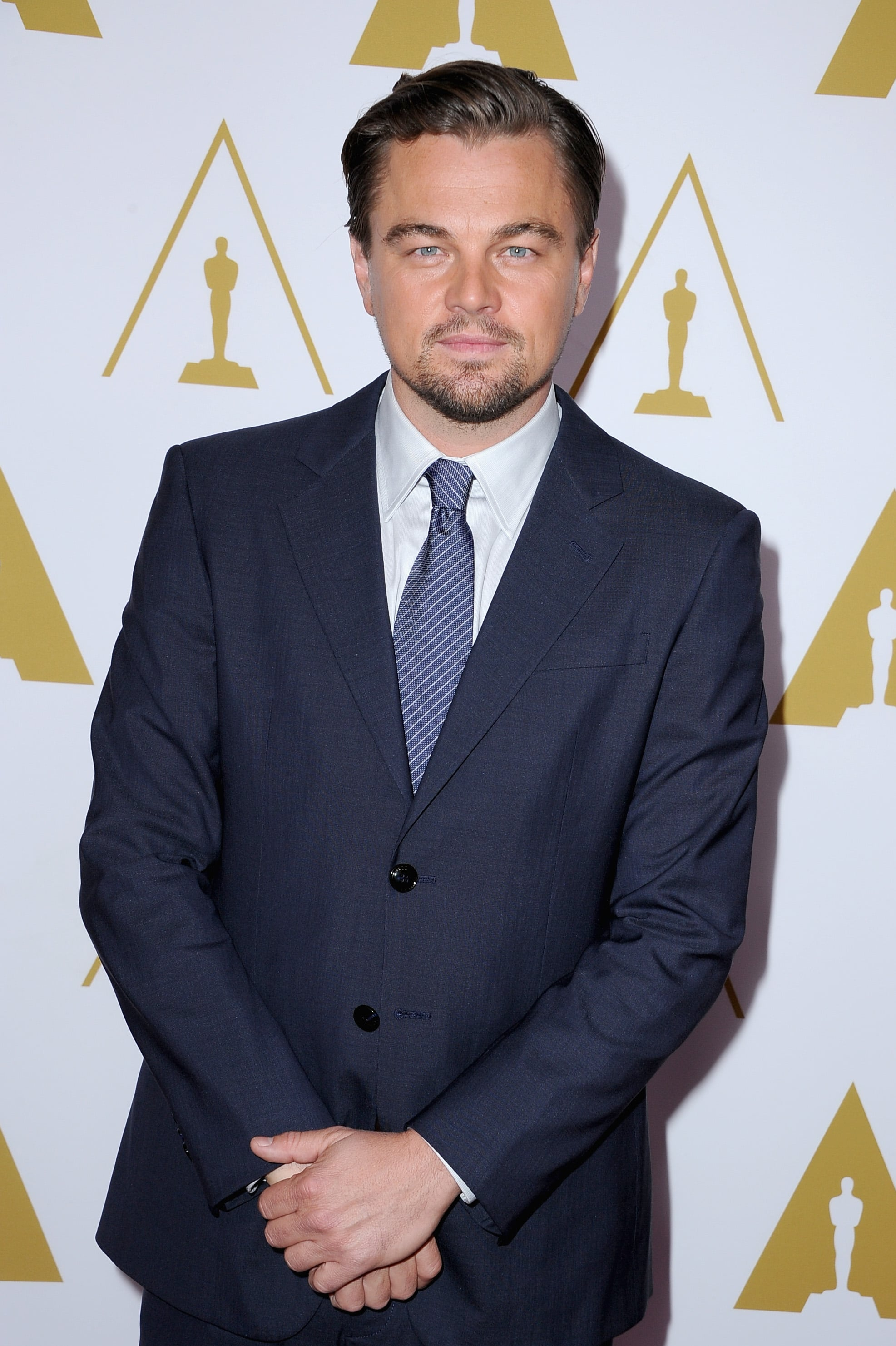 Leonardo DiCaprio brought his handsome self to the luncheon.