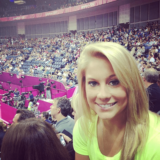 Shawn Johnson Tweets About 2012 Olympics