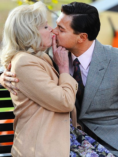 Ab Fab's Joanna Lumley on Kissing Leonardo DiCaprio: 'There Was Lots of Peppermint'