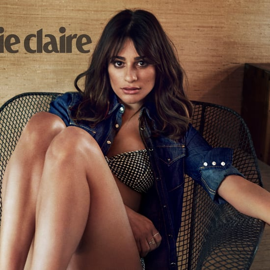 Lea Michele in Marie Claire November 2015