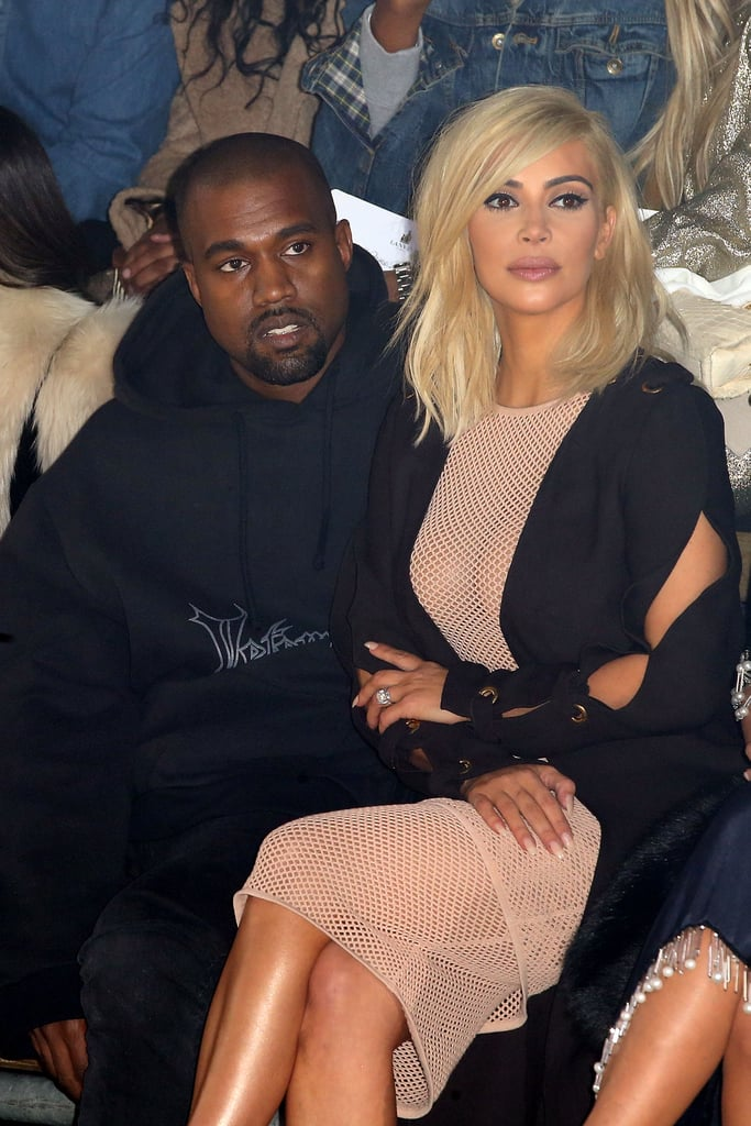 The duo attentively took in Lanvin's show at Paris Fashion Week back in March 2015.