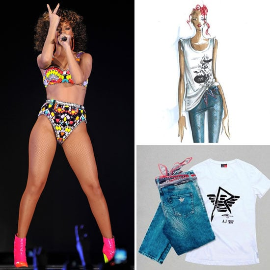 Rihanna Collection For Armani Jeans and Armani Underwear