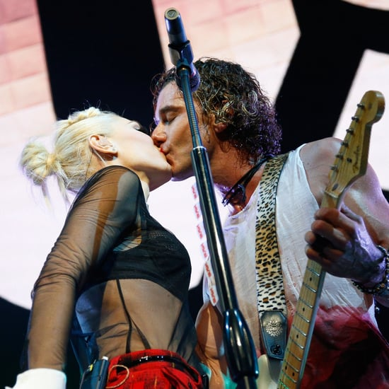 Gwen Stefani and Gavin Rossdale Kiss on Stage (Video)
