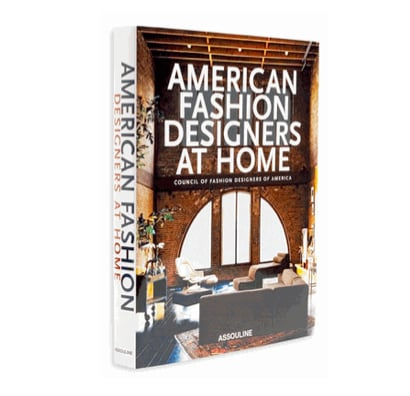 It's a guilty pleasure of mine to peruse interior design and real estate websites to inspire my next plan to decorate my apartment. Assouline's American Fashion Designers At Home by Rima Suqi ($65), which boasts a peak into the homes of everybody from Ralph Lauren to Carolina Herrera, may just be the source of my next muse.   — Robert Khederian, fashion editorial assistant