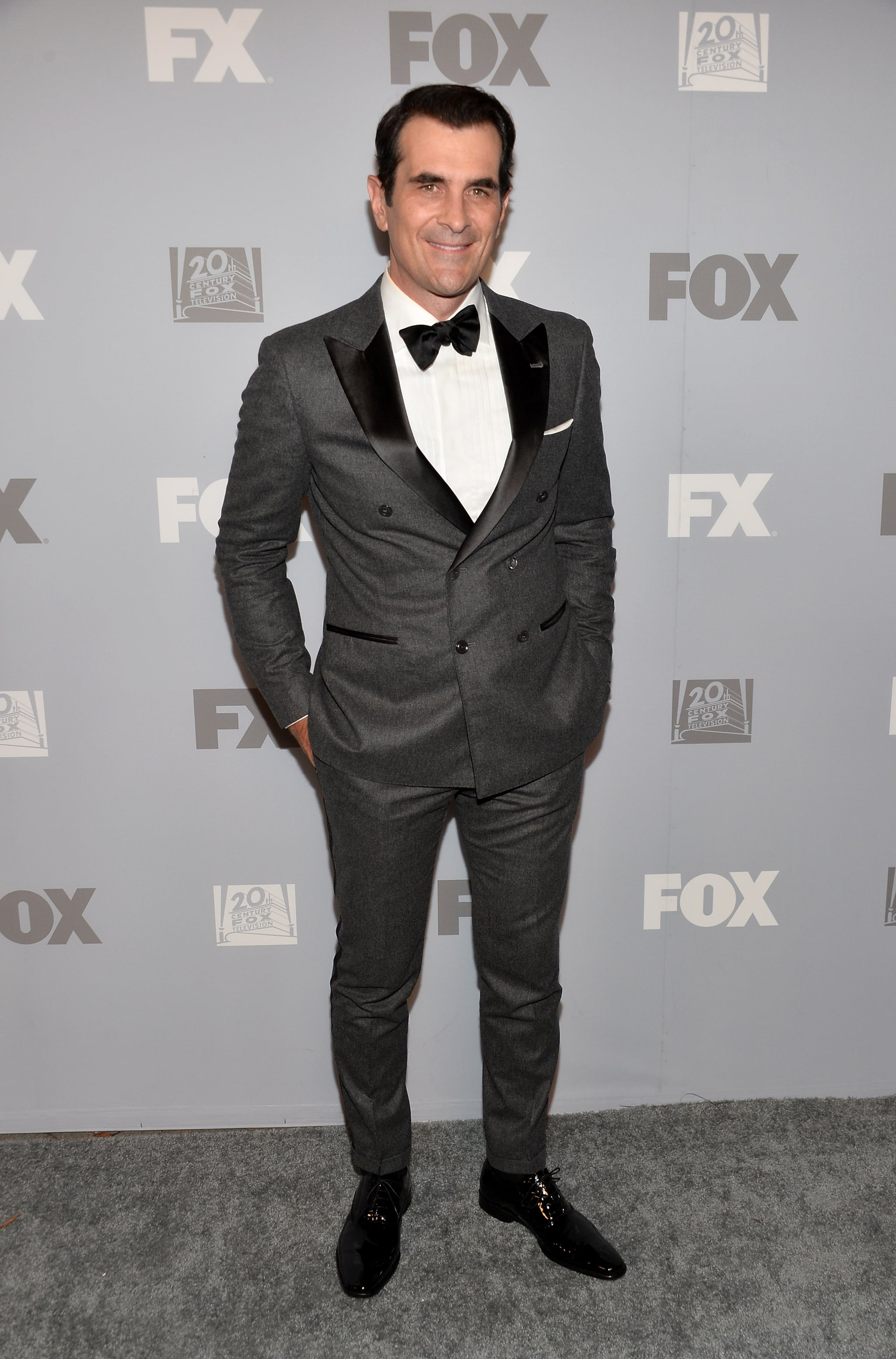 Ty Burrell attended Fox's Emmys afterparty in LA.