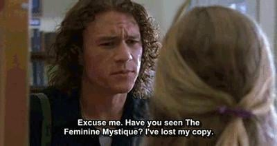 He'd have the perfect pickup line.