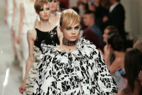 Makeup and Hair At Chanel Cruise 2014 Collection Singapore