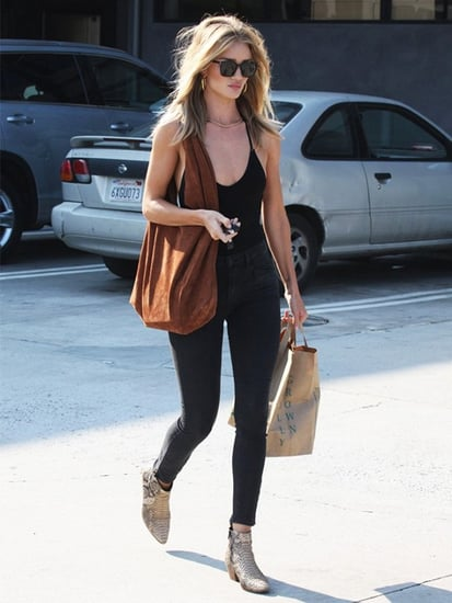 Rosie Huntington-Whiteley's Errands Outfit Is So Perfect