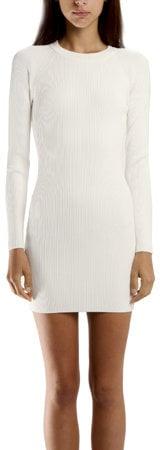 A.L.C. Nick Rib Dress in White