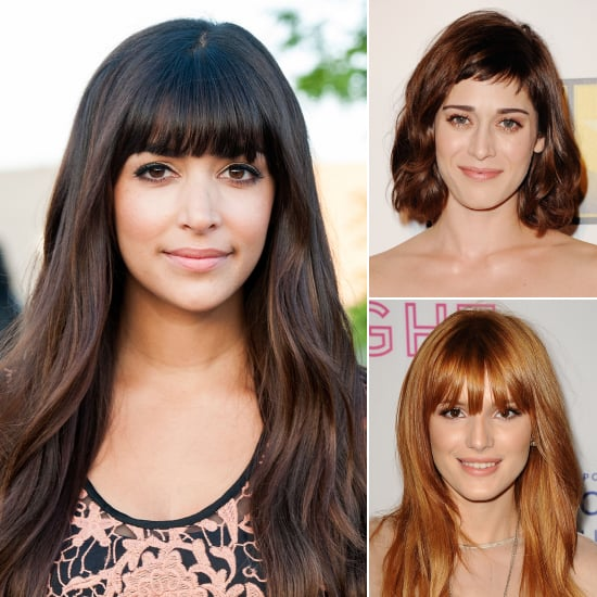 Celebrity Fringe Hairstyles For Spring