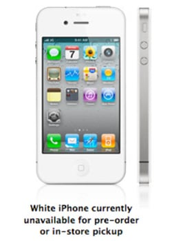 White iPhone 4 Release Date Delayed