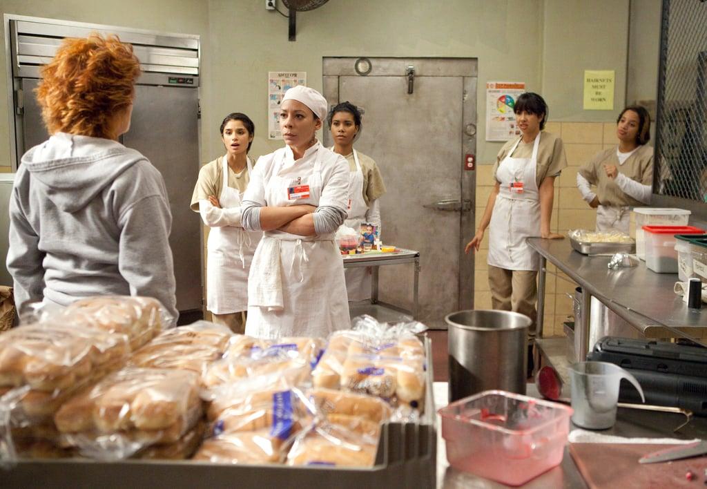 The kitchen faceoff. Source: Netflix