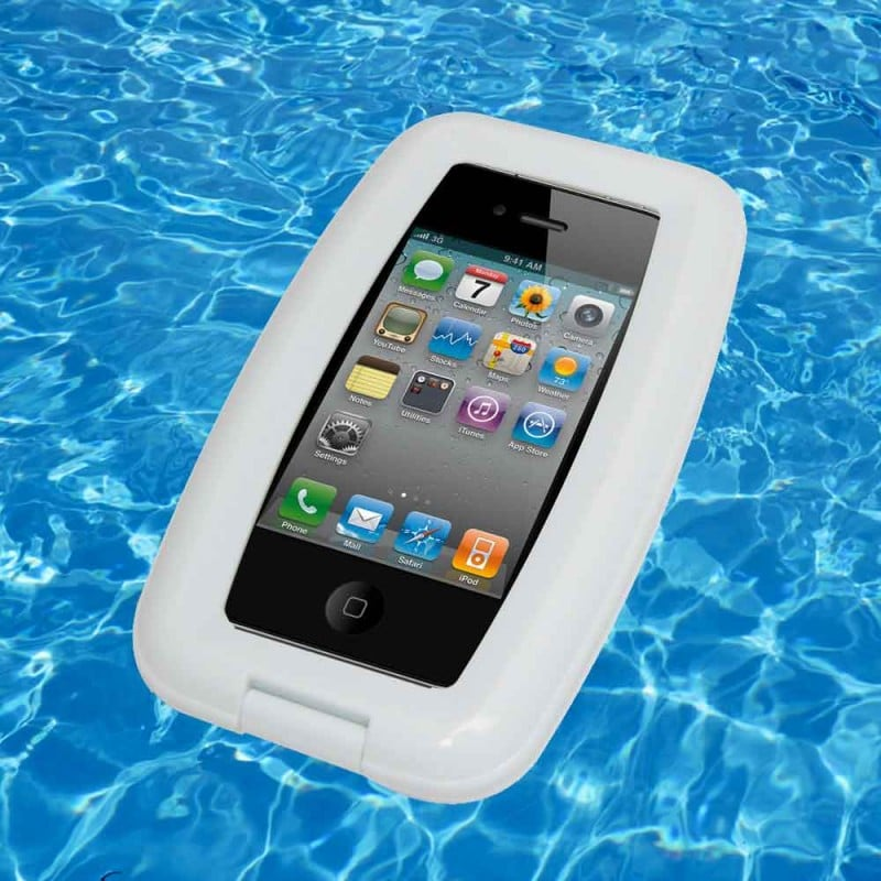 Yes, floating your phone on water in this aqua case ($34) is definitely a good idea.