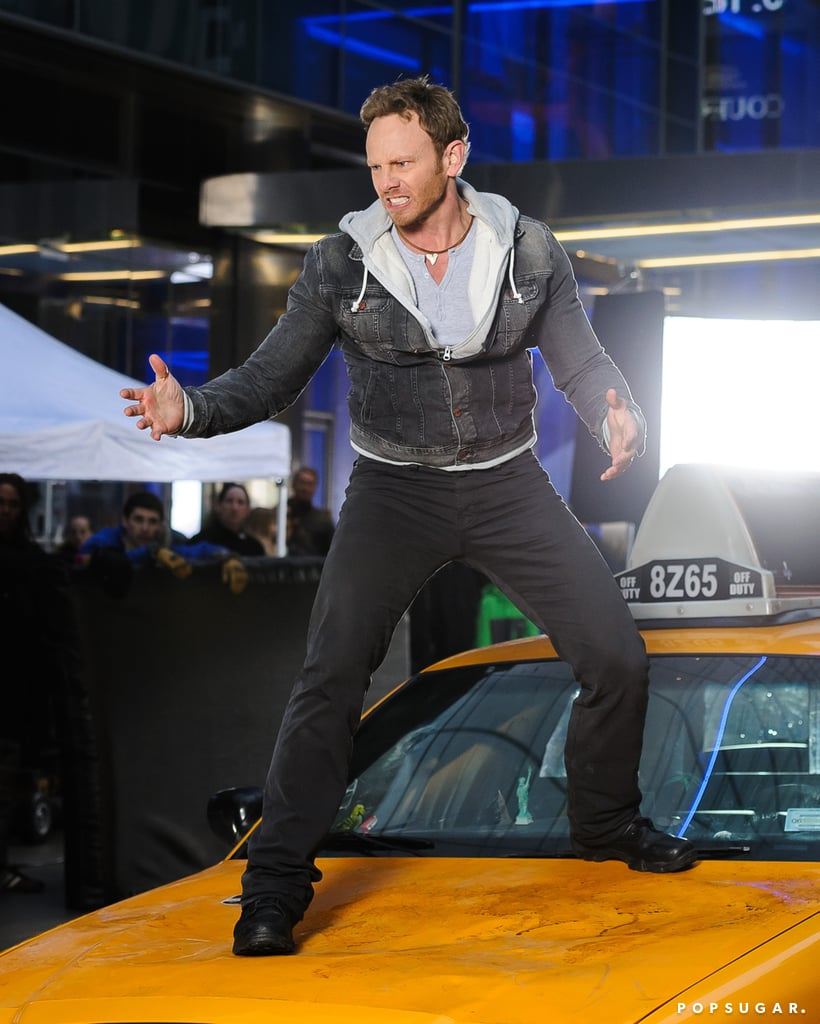 Ziering showed the sharks everything he's got.