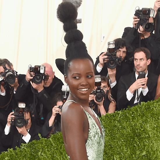 Lupita Nyong'o's Hair at Met Gala 2016