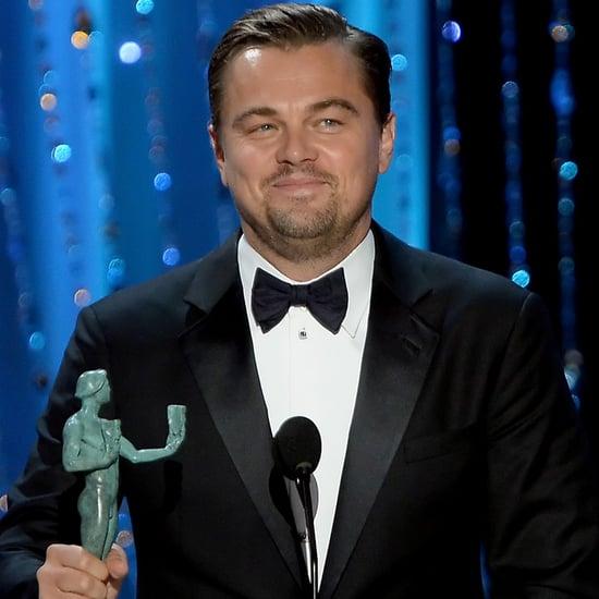 Leonardo DiCaprio's SAG Awards Speech 2016
