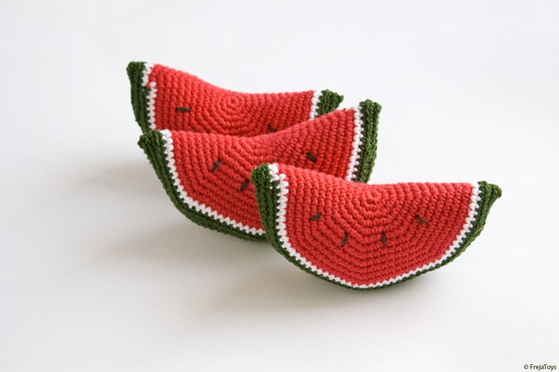 Freja Toys Watermelon Baby Rattle ($9)