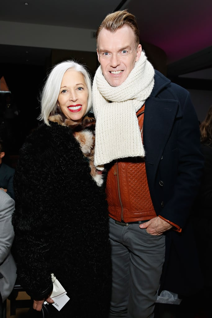 Linda Fargo and Ken Downing at Michael Bastian's Fall 2014 show.